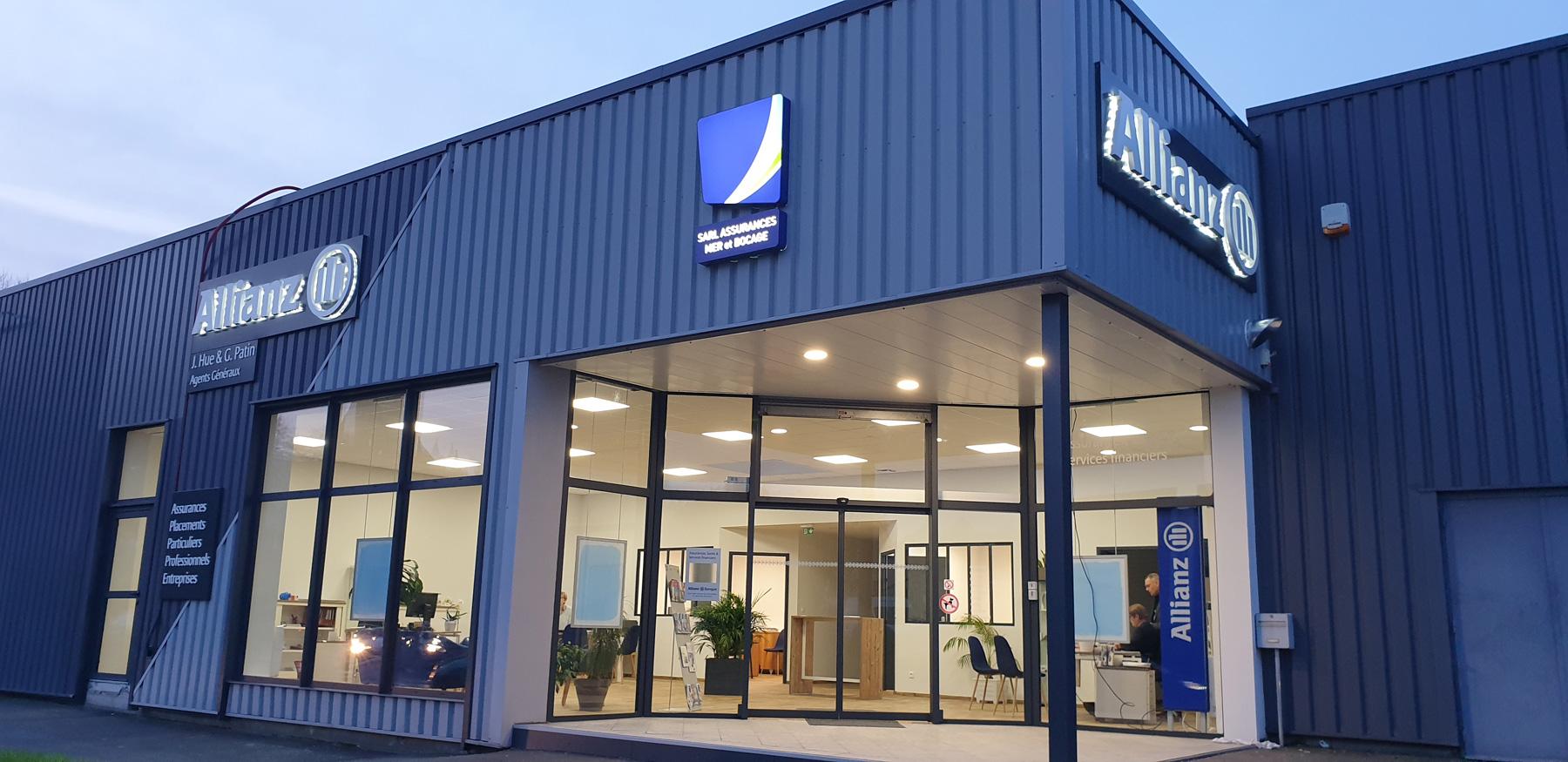 Nouvelle agence Allianz Coutances
